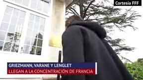 Griezmann, Varane y Lenglet se suman a la concentración francesa