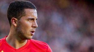 Hazard llega tras sus compromisos con Bélgica