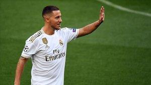 Hazard llegó al Madrid el pasado verano