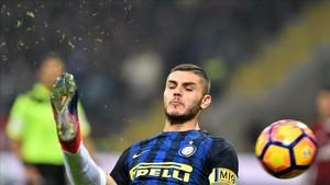Icardi marcó un gol estéril para el Inter