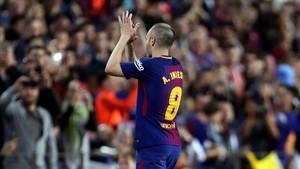 Iniesta se despedirá del Camp Nou