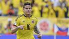 James Rodríguez se devalua en el Real Madrid, aunque con Colombia fue clave en la victoria contra Bolivia (1-0)
