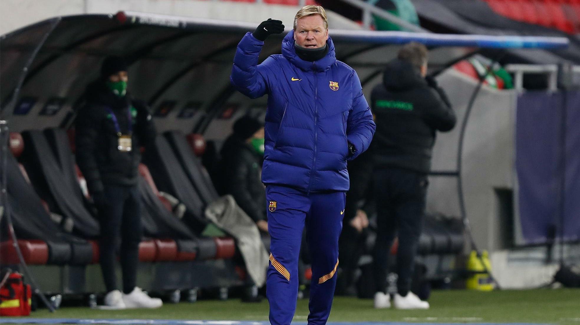 Koeman: El Real Madrid no es nuestro problema