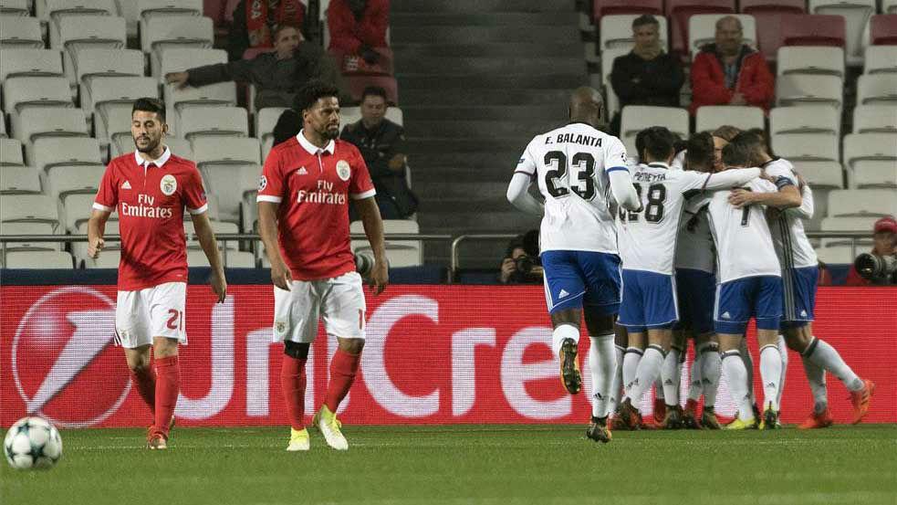 LACHAMPIONS | Benfica - Basilea (0-2)