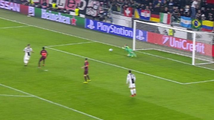 LACHAMPIONS | Juventus - FC Barcelona (0-0): La espectacular parada de Ter Stegen a Dybala