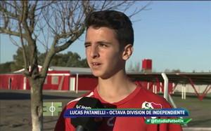 Lucas Patanelli, jugador de Independiente