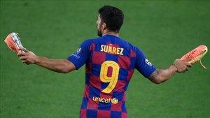 Luis Suárez negocia con el Atlético