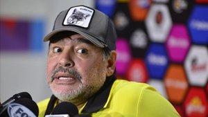 Maradona, con serios problemas de salud