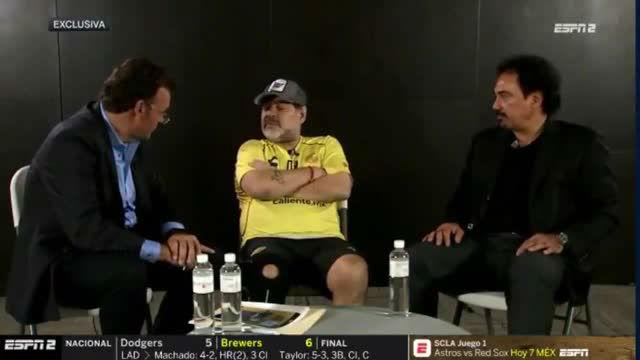 Maradona sigue hablando de Leo Messi