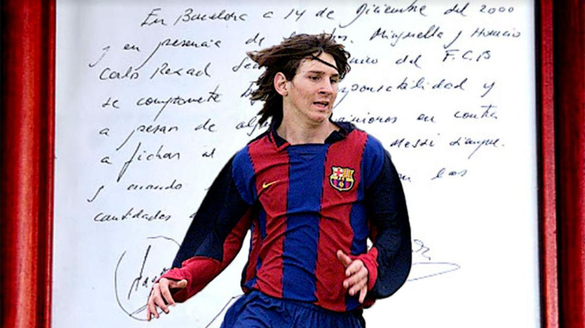 Messi cumple 20 años en el Barça: así se gestó su fichaje