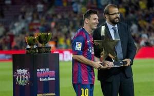 Messi, MVP de la 49 edición del Trofeu Joan Gamper