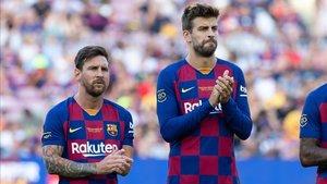 Messi y Piqué pasaron control antidoping este miércoles