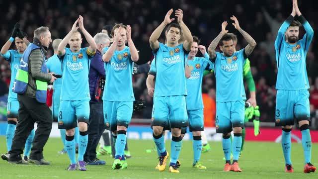 Messi resuelve ante el Arsenal