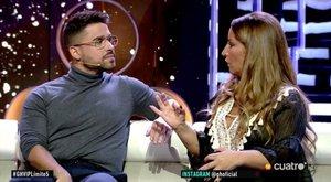 Miguel Frigenti y Raquel Salazar discuten en plena gala de GH VIP 7