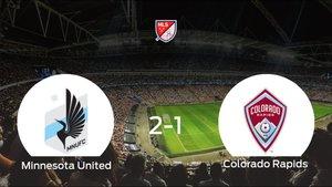 El Minnesota United se queda con la victoria frente al Colorado Rapids (2-1)