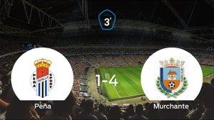 El Murchante logra una trabajada victoria ante la Peña Sport (1-4)
