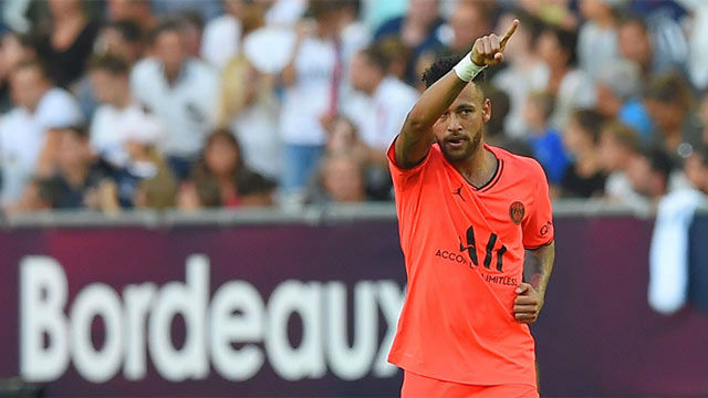 Neymar sigue sumando su cuenta anotadora y vuelve a dar la victoria al PSG