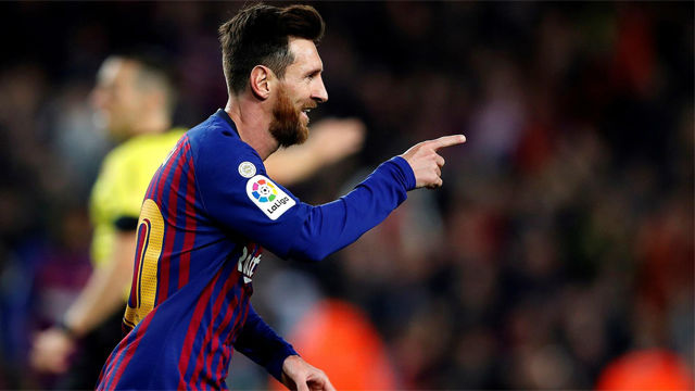 Nueva conexión Alba-Messi para que marque el 10 y cierre el año goleando