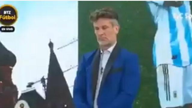 Lo nunca visto: minuto de silencio en la TV argentina tras la derrota ante Croacia