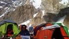 Òscar Cadiach,en su último asalto al Broad Peak.