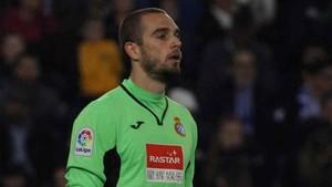 Pau López fue portero del Espanyol