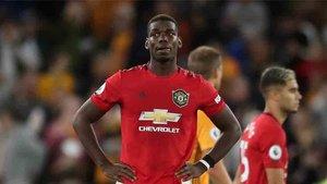 Paul Pogba y Bruno Fernandes comparten protagonismo en el Manchester United