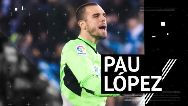 El perfil de Pau López