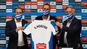 Primer problema de Vicente Moreno en el Espanyol