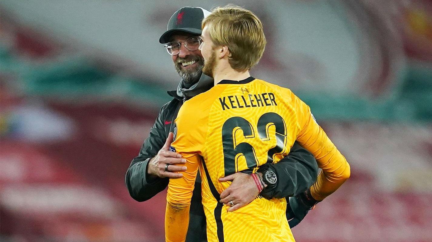 Primero fue Alisson, luego Adrián y ahora el canterano Kelleher: Así fue el partidazo del portero del Liverpool
