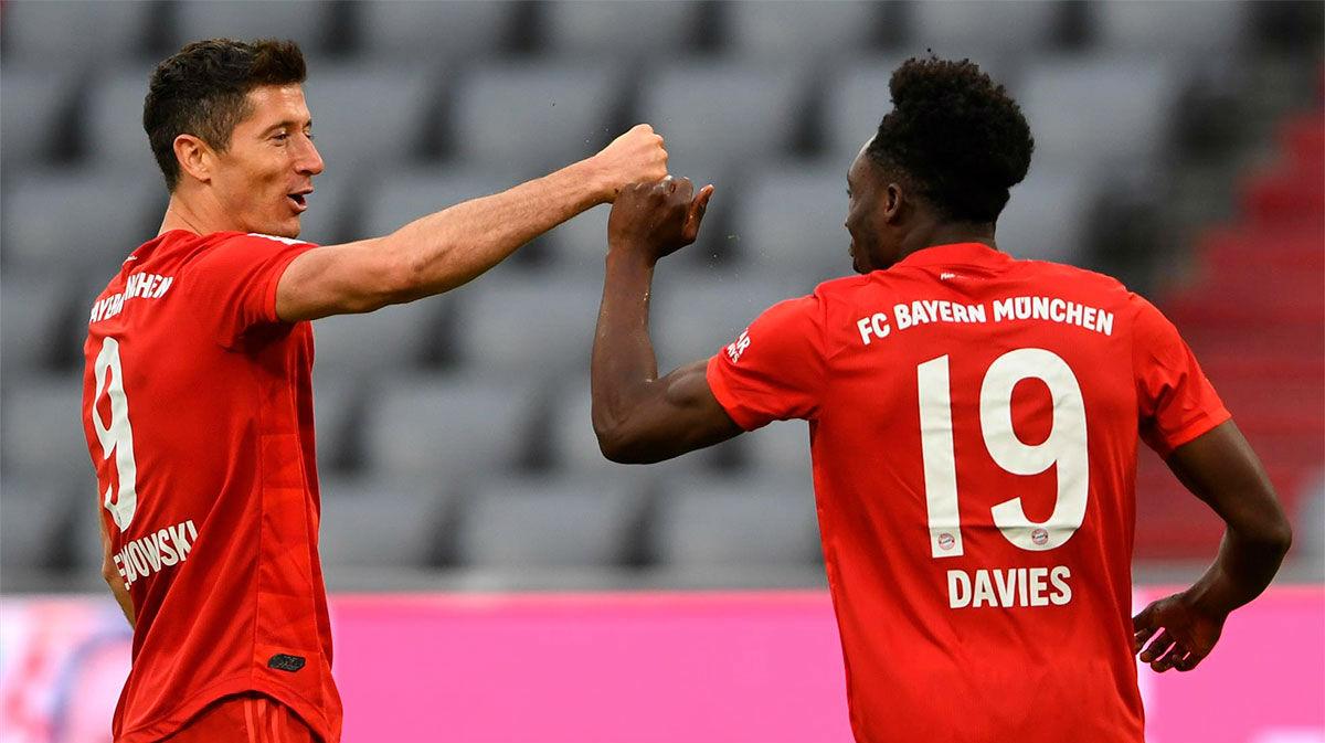 ¡Qué barbaridad! 86 goles en 29 partidos para el Bayern de Múnich