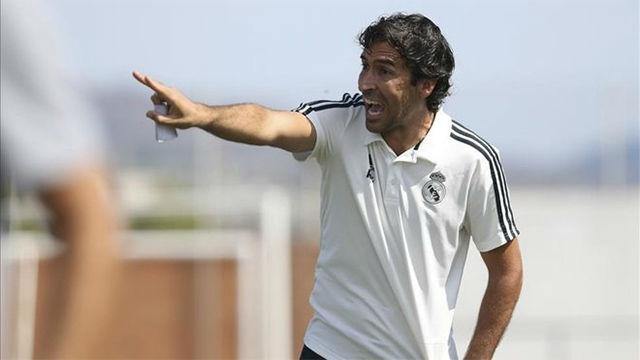 Raúl González, nuevo técnico del Real Madrid Castilla