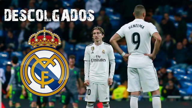 El Real Madrid se descuelga e iguala un registro negativo de 1930