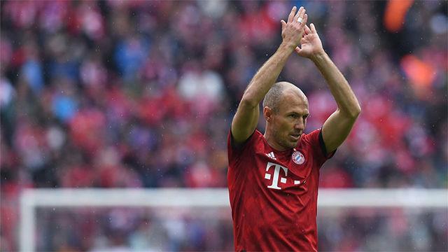 Robben: Venir al Bayern ha sido la mejor decisión de mi carrera