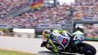 Rossi, en la última edición del GP de Alemania