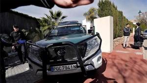 Rubén Semedo abondó su domicilio dentro de un furgón de la Guardia Civil