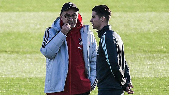 Sarri: No hay en el mundo un jugador que pueda sustituir a Cristiano