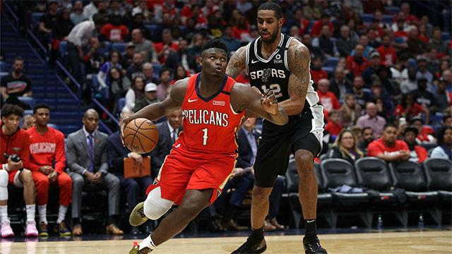 El sensacional último cuarto de Zion Williamson en su debut en la NBA