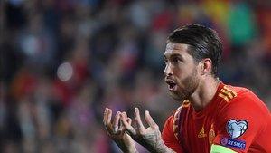 Sergio Ramos, pieza clave para Luis Enrique en la selección