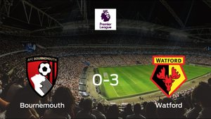 Sólido triunfo para el equipo de Watford: Bournemouth 0-3 Watford