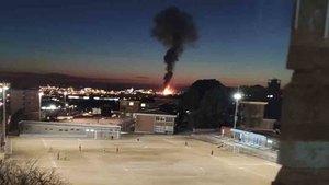 Tarragona vivió una tremenda explosión