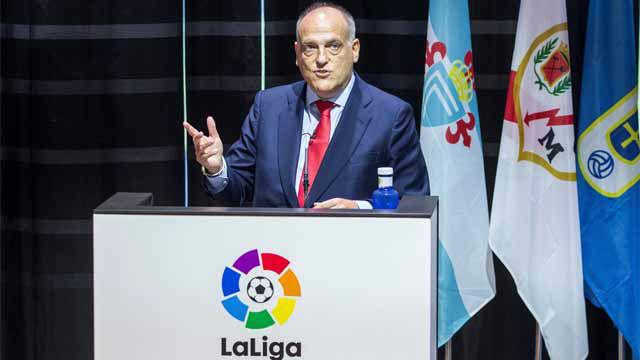 Tebas: La Superliga europea sería un fracaso a medio plazo