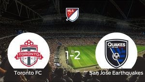 El Toronto FC pierde frente al San Jose Earthquakes por 1-2