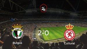Triunfo 2-0 del Burgos frente a la Cultural Leonesa