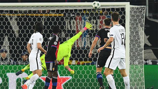 Uno de los mejores goles de Meunier con la camiseta del PSG