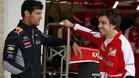 Webber, con Alonso en una imagen de archivo