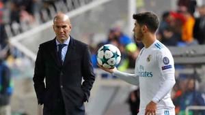 Zidane ha convocado a Asensio