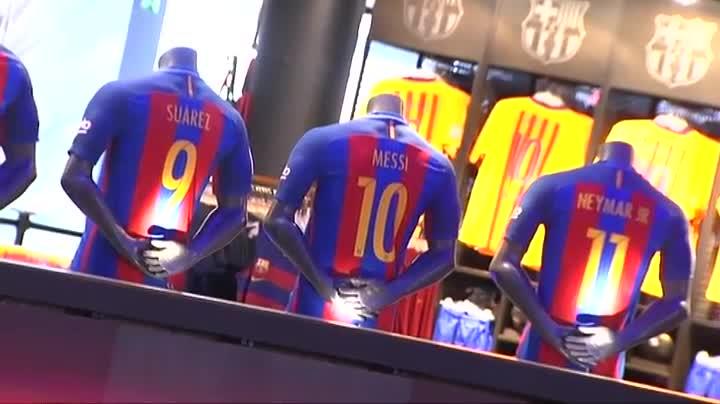 La camiseta del FC Barcelona 2016-2017 ya está en las tiendas b439bd2ec0a