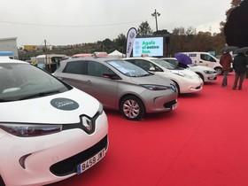 Imagen de la 1ª Feria del Vehículo Eléctrico celebrada en Rubí