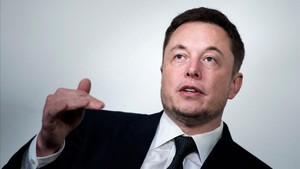 Elon Musk, multimillonario americano propietario de Tesla y SpaceX