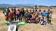 Curso de dirt track en el Noyes Camp